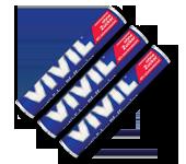 VIVIL - Classic Rolls Spearmint fara zahar