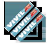 VIVIL - Classic Rolls Menta Naturala cu zahar