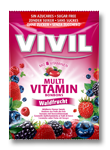 VIVIL - Multivitamine fructe de padure fara zahar
