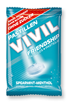 VIVIL - Bomboane FRIENDSHIP cu spearmint si mentol fara zahar