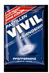 VIVIL - Bomboane FRIENDSHIP cu menta naturala fara zahar