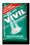 VIVIL - Bomboane FRIENDSHIP cu eucalipt si mentol fara zahar